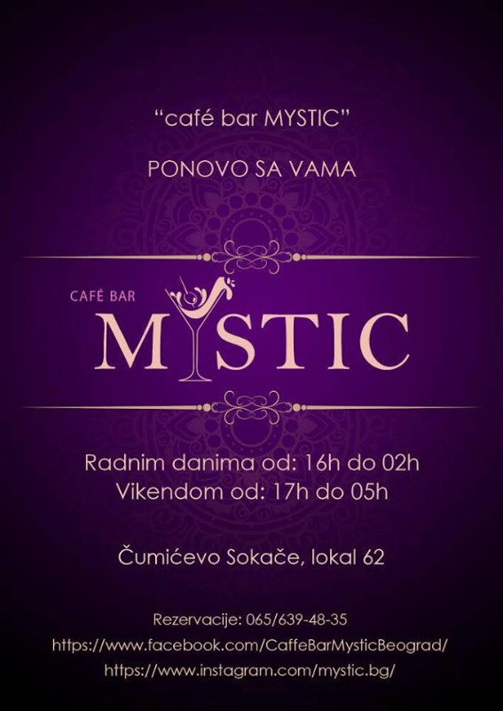 Cafe bar Mystic